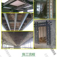 混凝土梁柱外包钢加固灌注粘钢胶