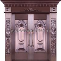 厂家直销铜门 入户对开铜门 别墅入户铜门