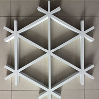 格栅铝天花条,格栅铝天花板,铝格栅厚度