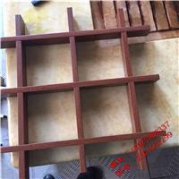 长沙木纹铝方管格栅,型材铝型材格栅,铝合金格栅批发价