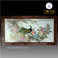 手绘粉彩瓷板画价格_粉彩瓷板画工艺种类