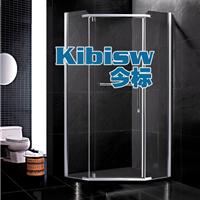 钻石淋浴房304不锈钢隔断卫生间玻璃浴屏