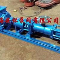 供应上海G20-1型污泥单螺杆泵