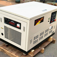 供应30kw汽油发的电机组静音式