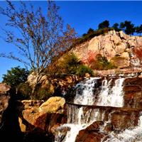 供应GRC假山瀑布,摩崖石刻