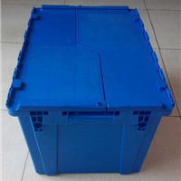 供应折叠箱厂家 上海塑料周转箱6843斜插箱