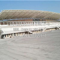供应上海展冀膜结构,膜结构体育看台