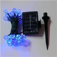 水滴形/珠子状/冰条状 太阳能灯串