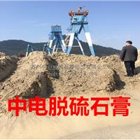 中电携手百家电厂直销脱硫石膏优供水泥厂