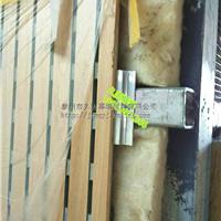 吸音板隔音板干挂铝合金挂件挂条