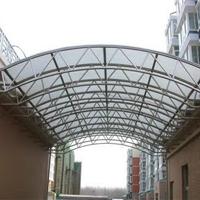 亿钢建设供应钢结构阳光房雨棚飘蓬出入口棚