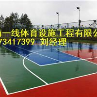 岳阳硅PU篮球场羽毛球场施工湖南一线体育