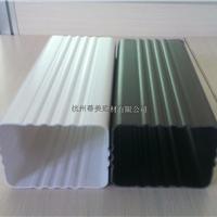 城步苗族自治县PVC方形雨水管成品檐沟