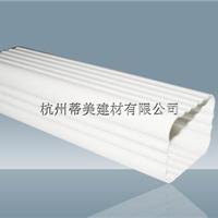 PVC排水管用途,PVC彩色方形落水管
