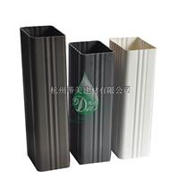 PVC方形雨水管多少钱,PVC矩形管