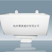 PVC彩色矩形管,PVC咖啡色雨水管标准