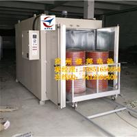 工业原料预热油桶烘箱 轨道式油桶烘烤箱