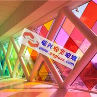 供应四川成都彩色夹胶玻璃/SGP超白夹胶玻璃