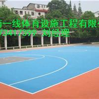 长沙硅PU篮球场施工方案湖南一线体育设施