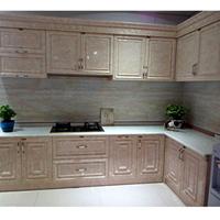 供应L型全铝橱柜型材 全铝厨房家具型材订做