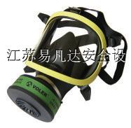 供应易凡达硅胶材质消防过滤式防毒面罩