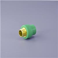 20 25 32绿色PPR外丝直接原装进口料