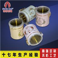 供应茶叶铁盒定制 马口铁茶叶圆形铁罐包装
