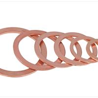 供应DIN7603紫铜垫圈 现货供应规格齐全
