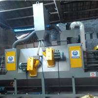 不锈钢板表面处理喷砂机 红海自动喷砂机