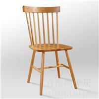 供应百维斯纯实木餐桌椅橡木餐厅家具