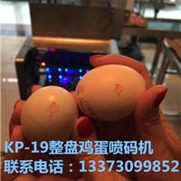 涿州鸡蛋喷码厂家  单排鸡蛋喷码机  价格  质量如何