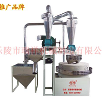 山东瑞祥圆盘式6FTS-1.2自动石磨面粉机