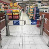 供应智能全自动红外超市商场防盗感应门