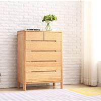 供应百维斯纯实木大衣柜白橡木卧室组合家具