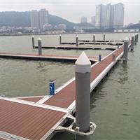游艇码头工程建设铝合金结构码头主桥支桥