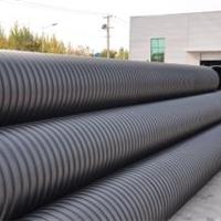 厂家直销批发钢带增强PE螺旋波纹管,排污管
