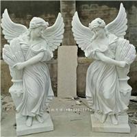 供应汉白玉人物雕塑,石雕西方天使