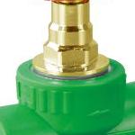 20 25 32 厂家直销绿色PPR截止阀原装进口