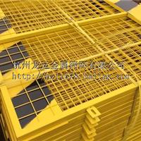 卓铭深基坑护栏网临边防护网黄黑色网片