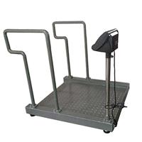供应轮椅秤血透析室专用轮椅电子秤电子地磅