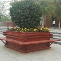 邯郸户外木质花箱 风景优质 实木树池子花槽