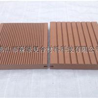 供应广东户外木塑145-25MM双面实心板