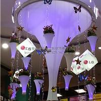 软膜-各种造型喇叭及灯柱(透光膜喷画膜)