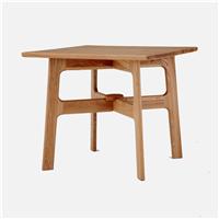 实木圆桌复古家用桌子酒店餐桌厂家众美德