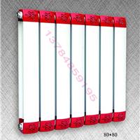 TLZY8-6/7-1.0型铜铝柱翼散热器铜铝