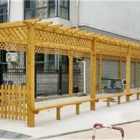天津防腐木葡萄架,13821886877 炭化木花架