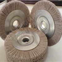 供应刀具钝化抛光轮毛刷杜邦磨料丝打磨毛刷
