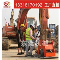 工地大型挖掘机使用品牌液压夯实器价格