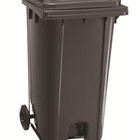 济南信源厂家现货供240升垃圾桶光洁如新