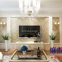 麻雀装饰设计东方瑞景70平米欧式风格案例